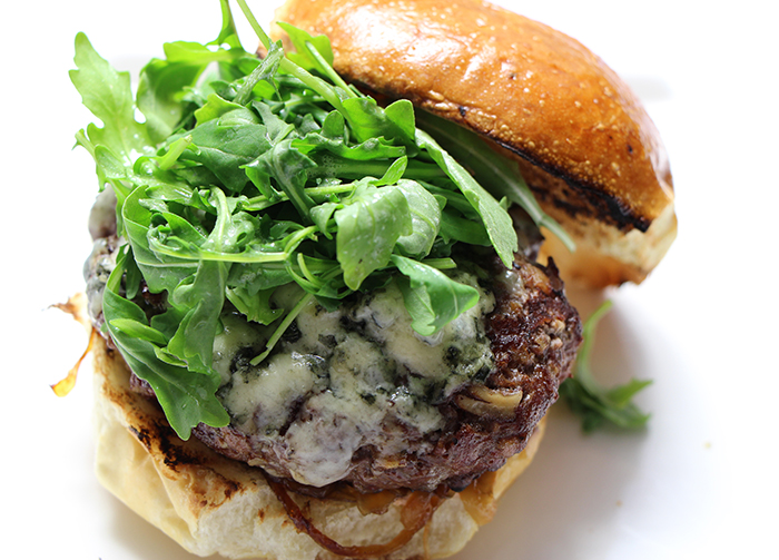 slider blue cheese dip andouille blue cheese sliders andouille burgers ...