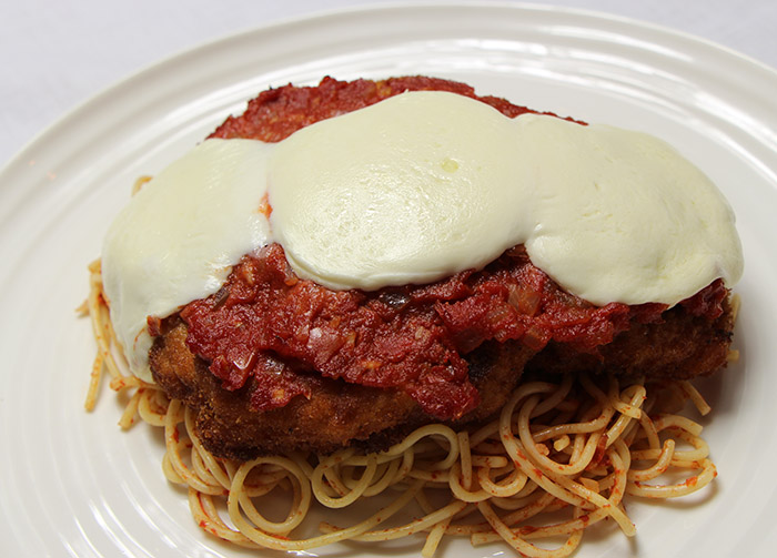 P12 chicken parm
